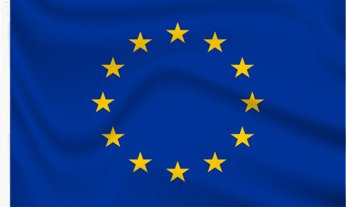 European Union EU Sleeved Flag to buy online