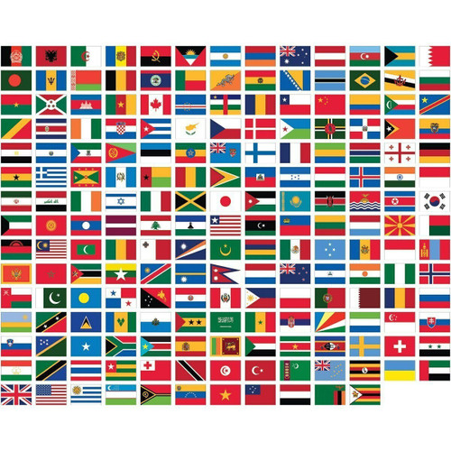 Olympic Nations 50 Flag Pack - SAVE UPTO £15!