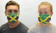 Jamaica Flag Face Mask
