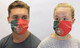 Portugal Portuguese Flag Cotton Face Mask