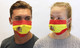 Spain Spanish Flag Face Mask
