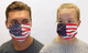 American USA Flag Cotton Face Mask