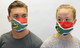 South Africa Flag Cotton Face Mask