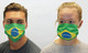 Brazil Flag Cotton Face Mask