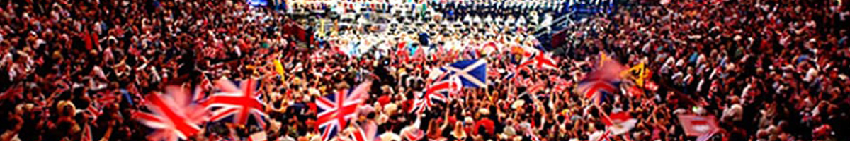 Union Jack Flags and Bunting