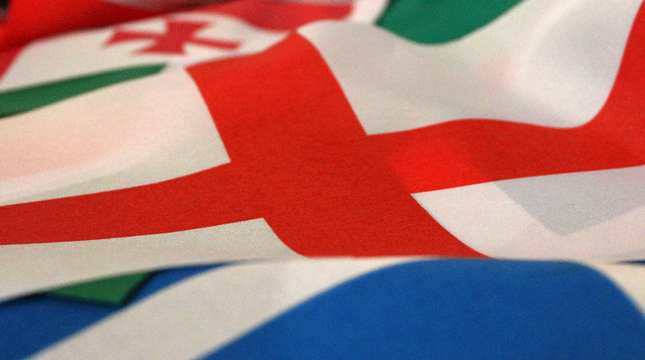 Rugby 6 Nations Flags