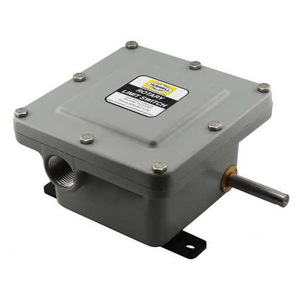 55-7E-3DP-WL-333   Series 55 Explosion Proof Rotary Limit Switch   Gleason Reel - Hubbell