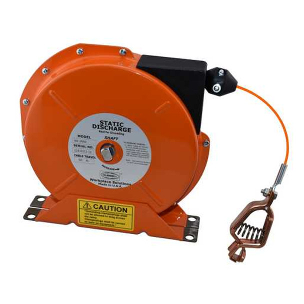 SD-2050-OS Static Discharge Reel 50' SS Orn. Jkt. | Gleason Reel - Hubbell