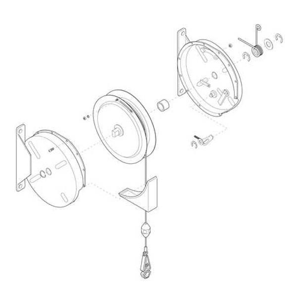SD2050-K01 | Spring Kit SD2050 | Gleason Reel - Hubbell