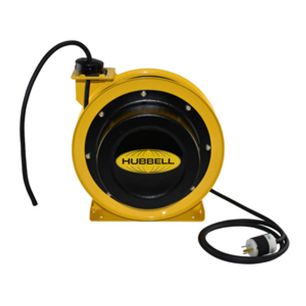 GCC12370-BC 70' 12/3 Industrial Duty Cord Reel w/Bare Cord | Gleason Reel - Hubbell