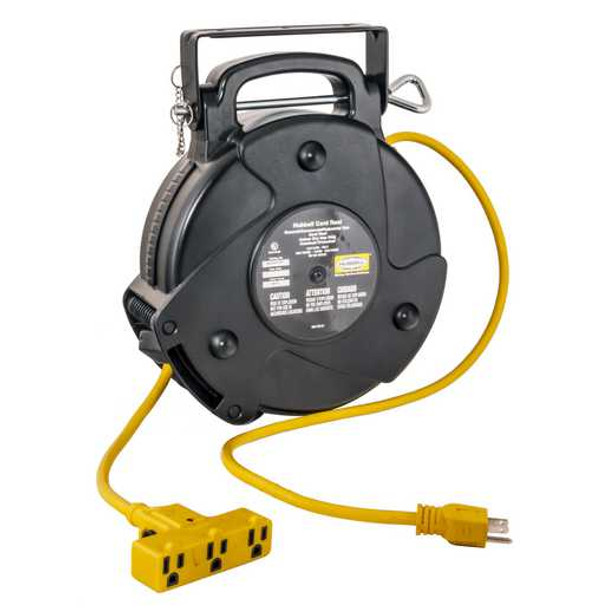 GR12340-TR   GR12340-TR Medium Duty Commercial Cord Reel 40' 12/3   Gleason Reel - Hubbell