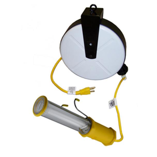 GF-1840 Cord Reel 40' 18/2 W/Fl. Lamp | Gleason Reel - Hubbell