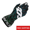 -273 Poly Evo Karting Glove Green