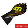 -273 Zero Karting Glove - (Black/Yellow/Orange)