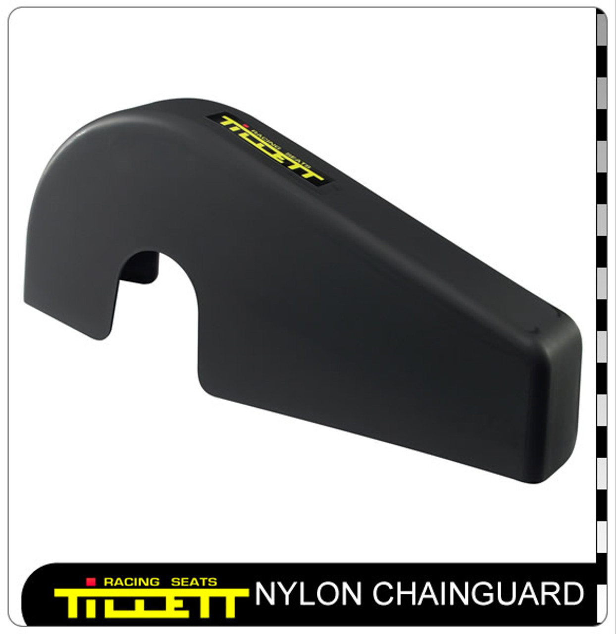Chainguard with Cut Away Front Section