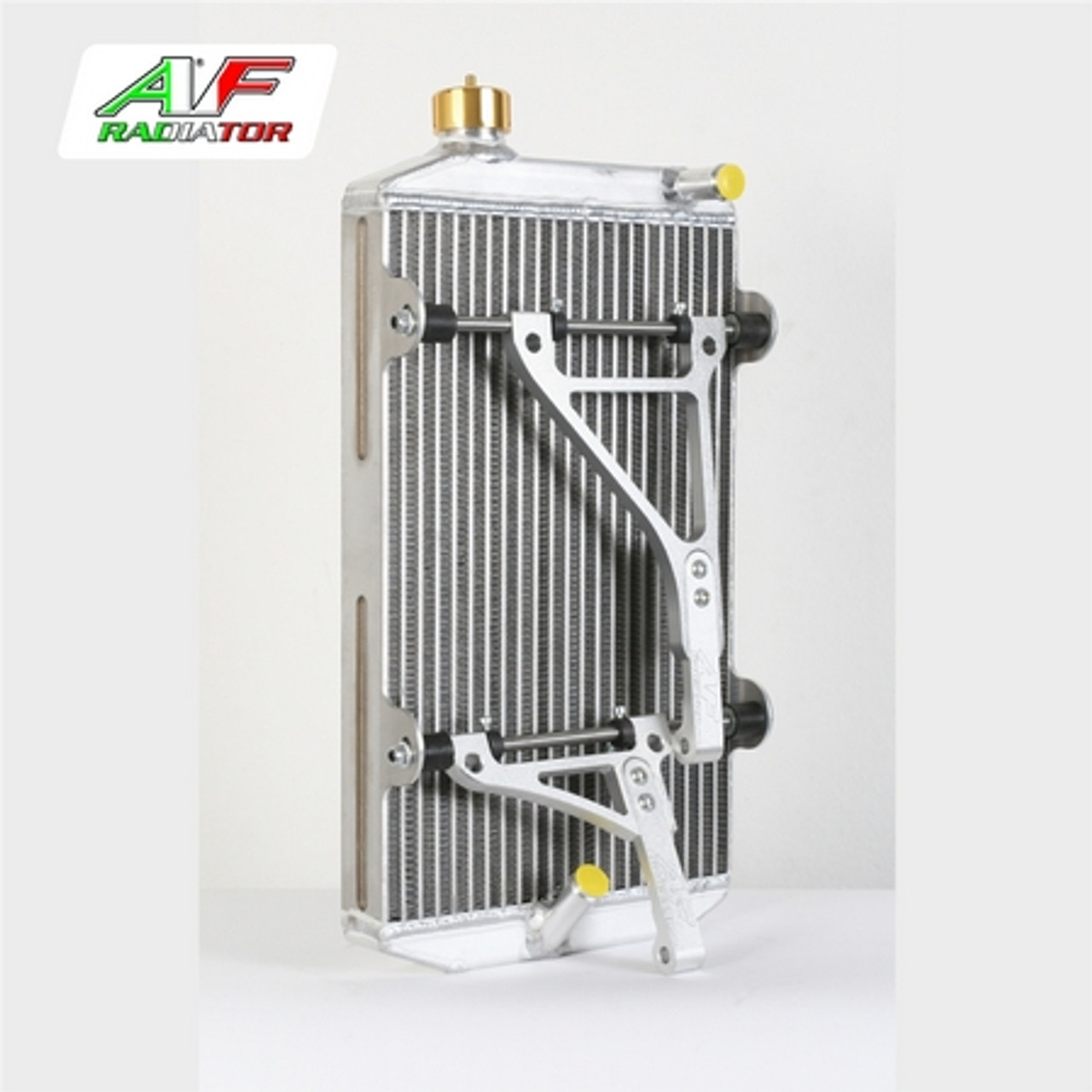 AF Gold Radiator & Race Support Kit 430 x 240 x 40 Back