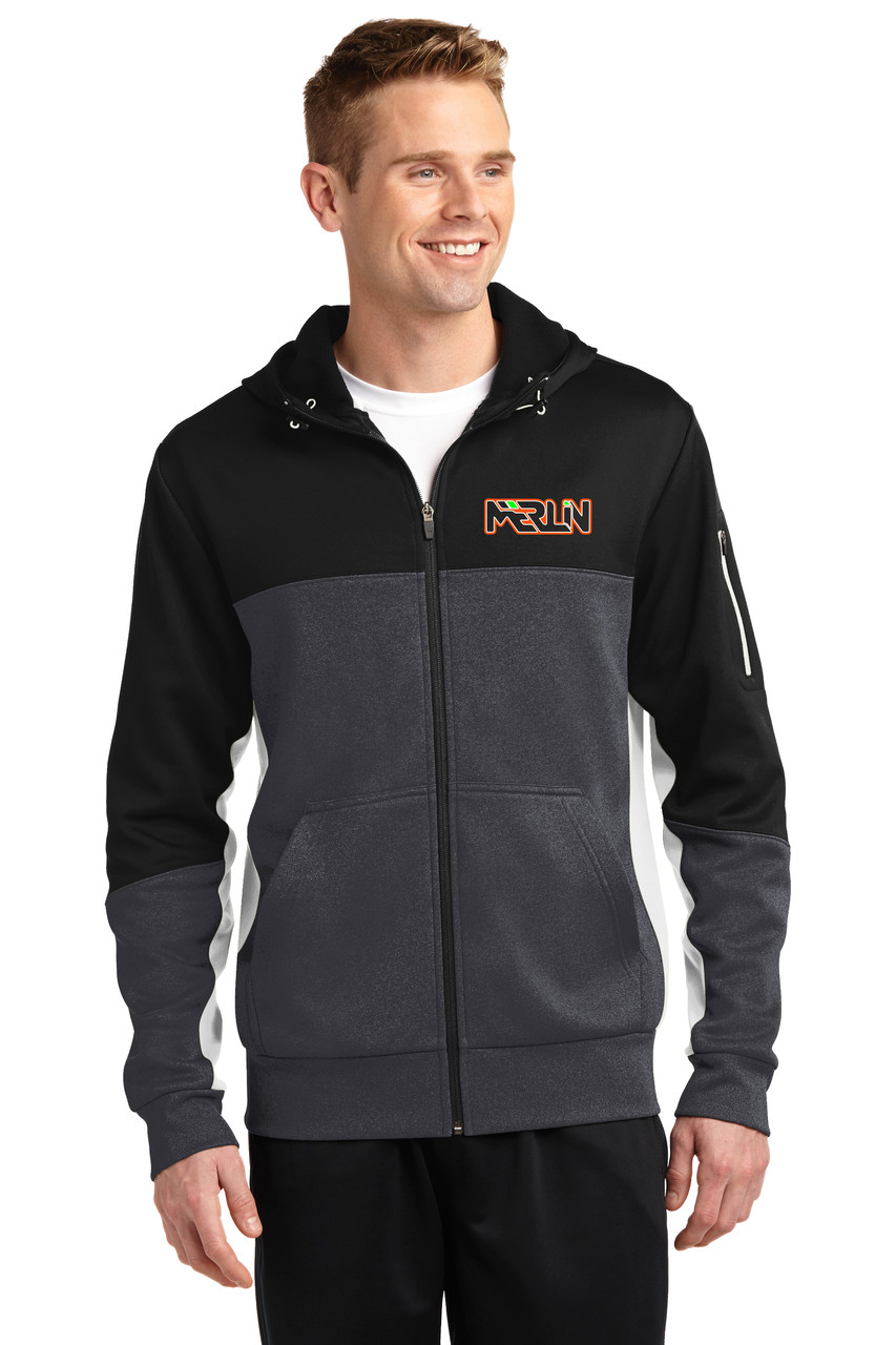 Merlin Men's Full Zip Sweatshirt Front