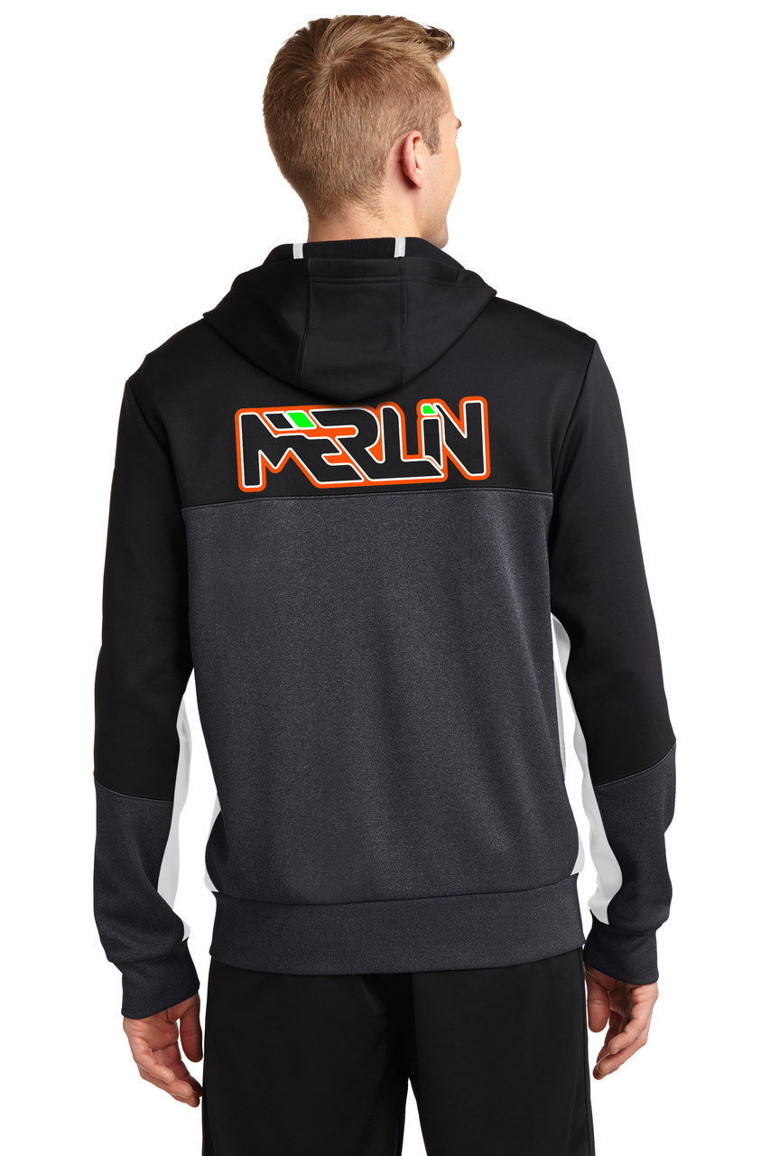 Merlin Men's Full Zip Sweatshirt Back