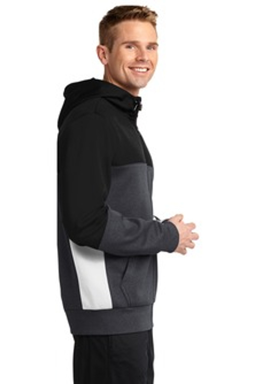 Merlin Men's Full Zip Sweatshirt Side