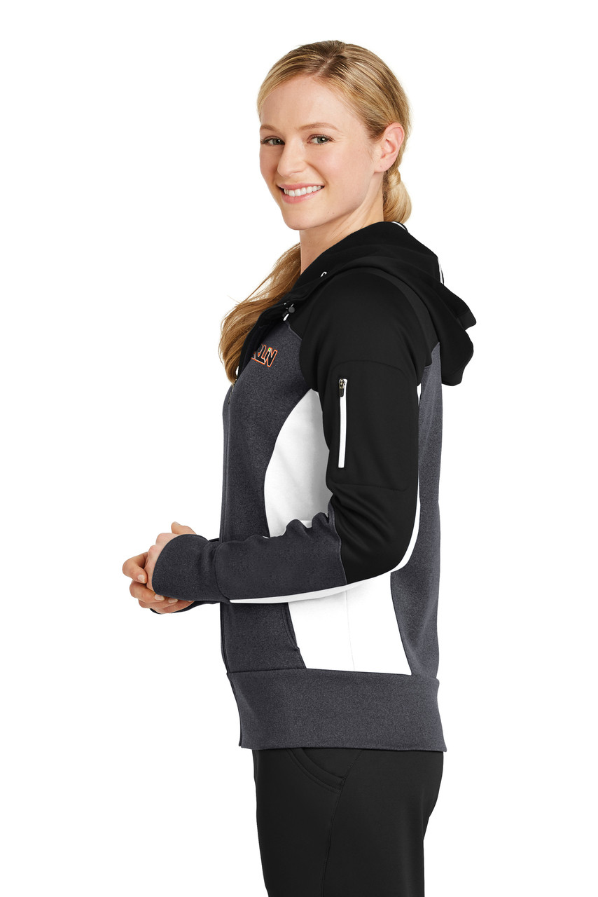 Merlin Women's Full Zip Sweatshirt Side