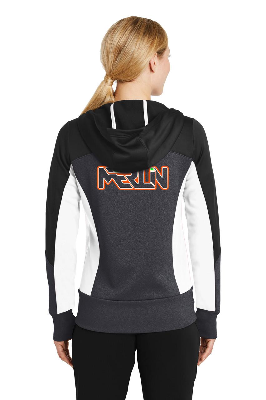 Merlin Women's Full Zip Sweatshirt Back