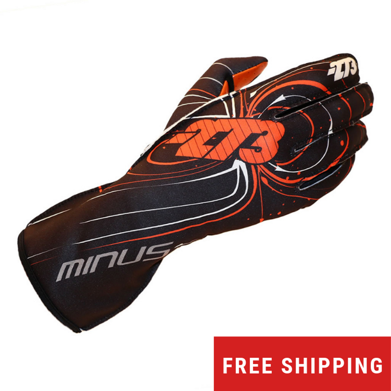 -273 Zero Karting Glove - Orange