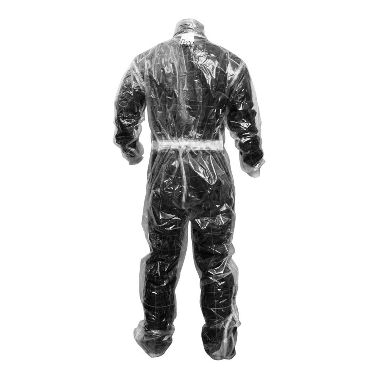 K1 RaceGear Rain Suit Back