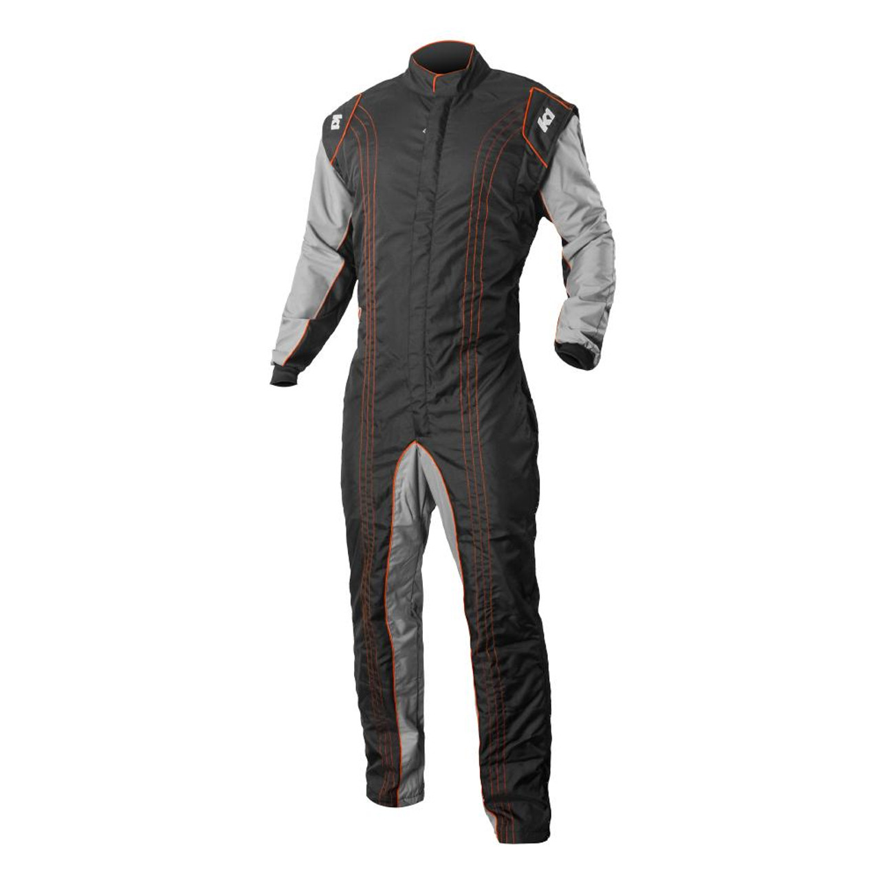 K1R GK2 Orange Race Suit Front