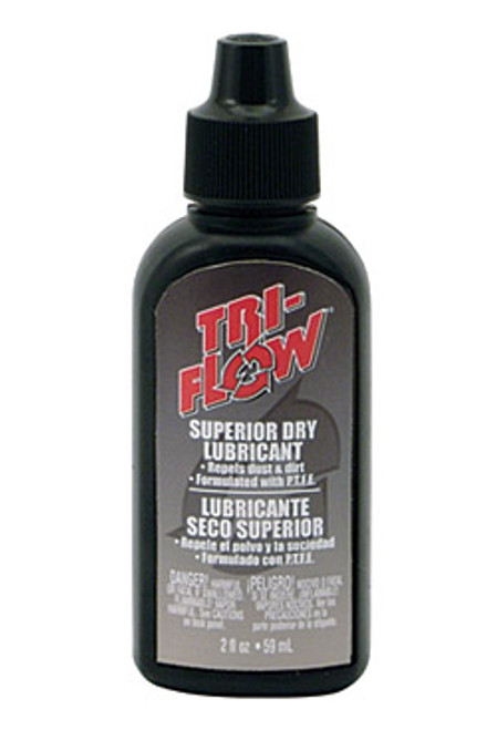 Tri-Flow Superior Dry Lubricant 2 oz Drip Bottle