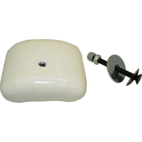 Driveline White Pillow Weight with Bolt Kit