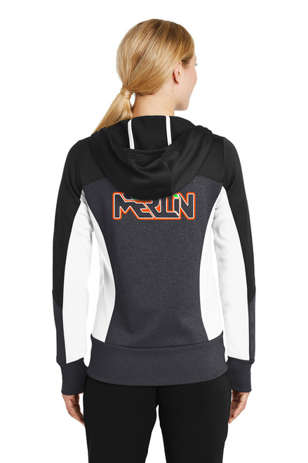 Merlin Women's Full Zip Sweatshirt Back