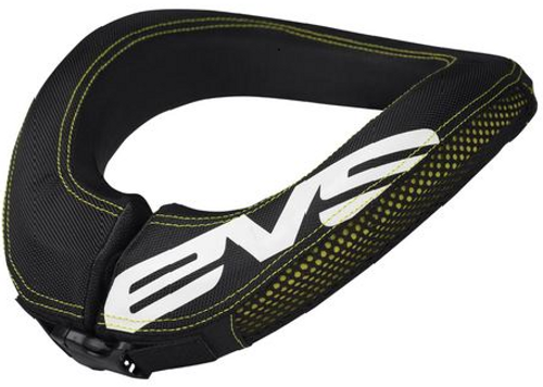 EVS R2 Neck Collar - Yellow Stitching