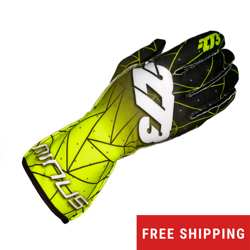 -273 Poly Evo Karting Glove Fluorescent