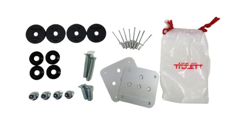 Tillett Seat Fitting Hardware Kit with Plates (TIL-TK2)