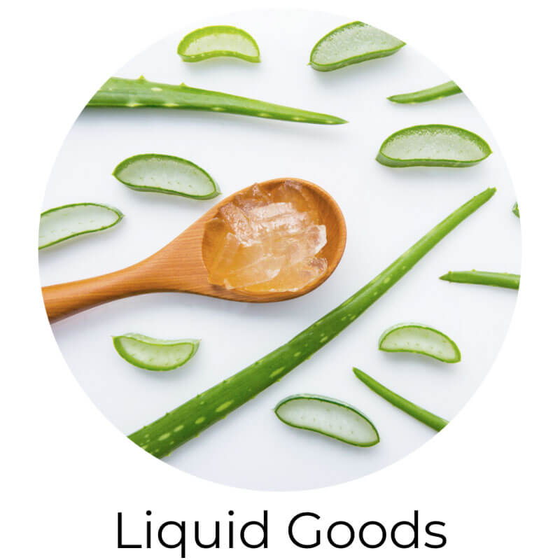 glycerine, magnesium oil, aloe vera gel