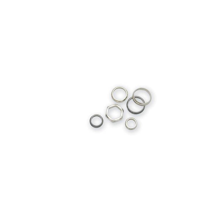 HexagonalNickel Silver Winding Checks,