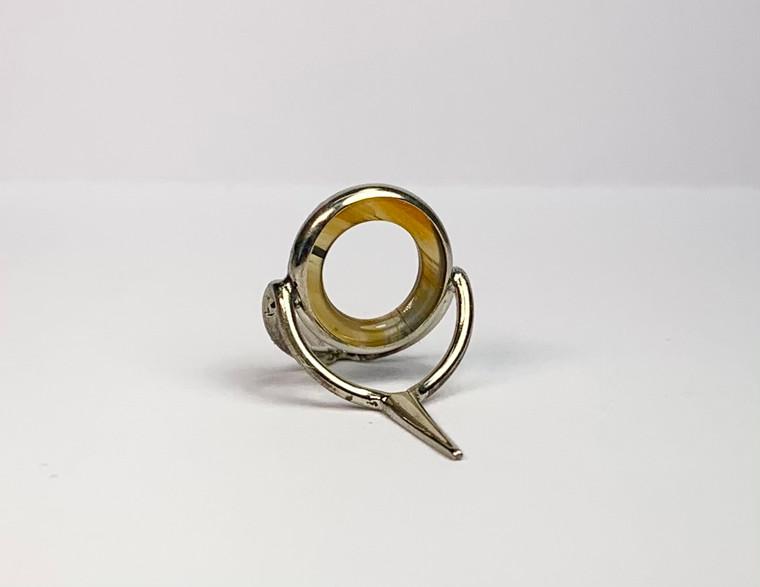 12mm Olive Brown Stripe