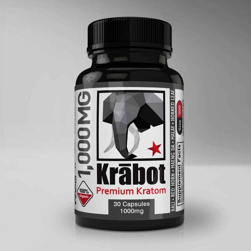 Krabot Krabot Morning Blend 1000mg Capsules