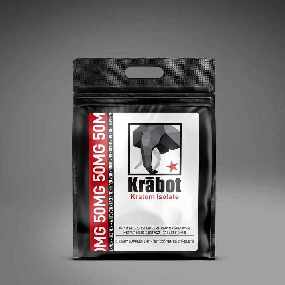 Krabot Kratom Isolate White Vein 50mg