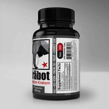 Krabot White Indo 1000mg Capsules