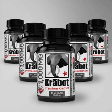 Krabot Capsule Sample Pack 1000mg L
