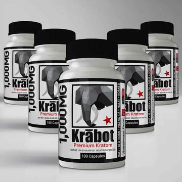 Krabot Capsule Sample Pack 1000mg XL