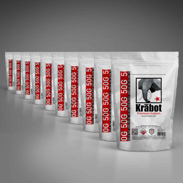 Krabot 10 Strain Powder Sample Pack M