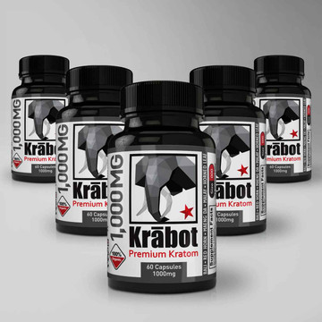 Krabot Capsule Sample Pack Blends 1000mg L