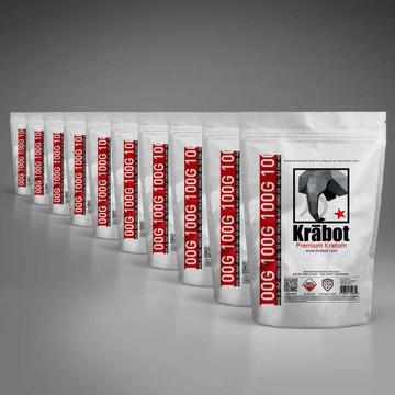 Krabot 10 Strain Powder Sample Pack L