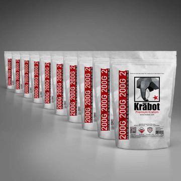 Krabot 10 Strain Powder Sample Pack XL