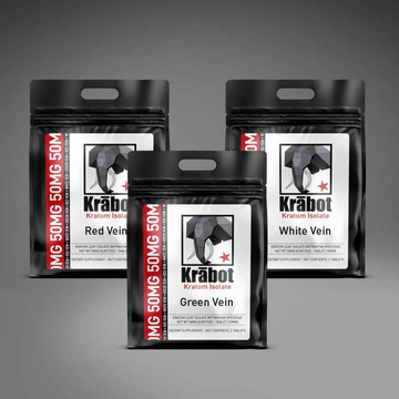 Krabot Kratom Isolate Sample Pack 50mg