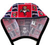 Men's Florida Panthers Unlined Surgical Scrub Hat, Optional Sweatband, Handmade