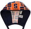 Men's Syracuse CUSE Unlined Surgical Scrub Hat, Optional Sweatband, Handmade