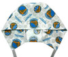 Men's Golden State Warriors Logo, Semi-Lined Fold-Up Cuffed or No Cuff  (shown) Surgical Scrub Hat, Handmade